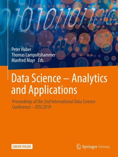Cover of 'Data Science – Analytics and Applications'