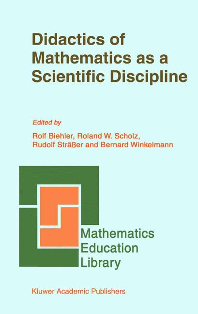 Cover of 'Didactics of Mathematics as a Scientific Discipline'