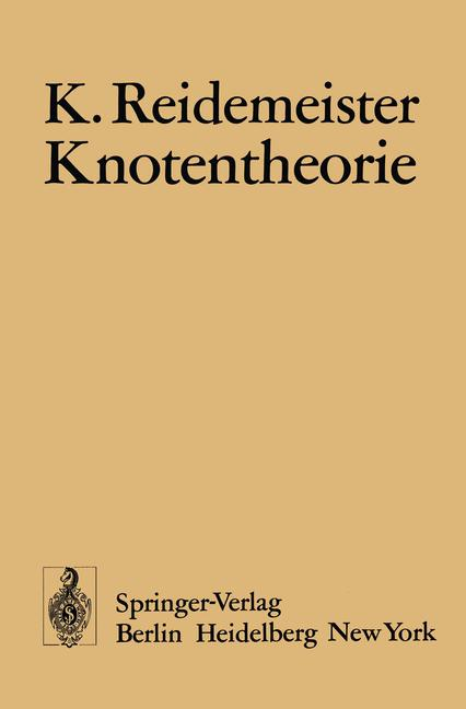 Cover of 'Knotentheorie'