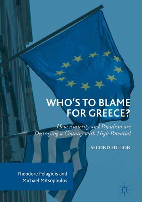 Cover of 'Who's to Blame for Greece?'