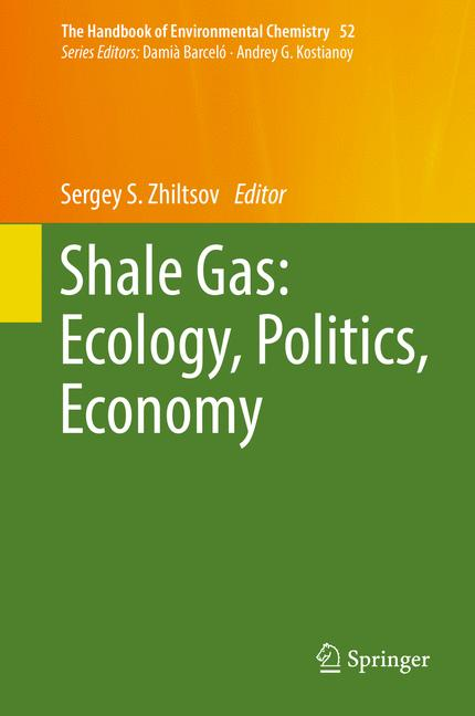 Cover of 'Shale Gas: Ecology, Politics, Economy'