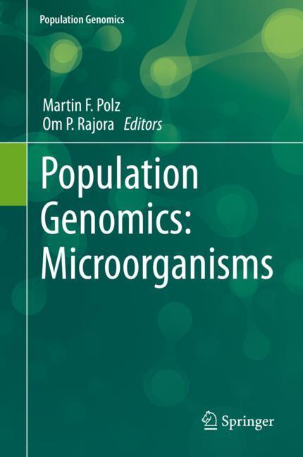 Cover of 'Population Genomics: Microorganisms'