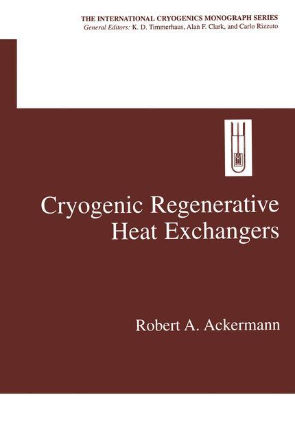 Cover of 'Cryogenic Regenerative Heat Exchangers'