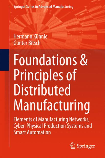 Cover of 'Foundations & Principles of Distributed Manufacturing'