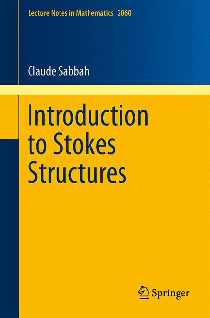 Cover of 'Introduction to Stokes Structures'