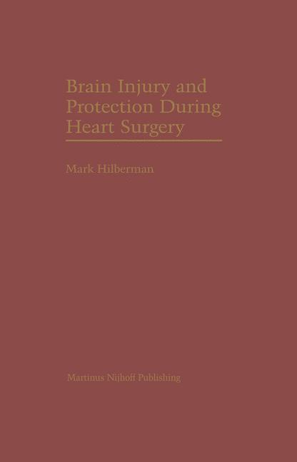 Cover of 'Brain Injury and Protection During Heart Surgery'