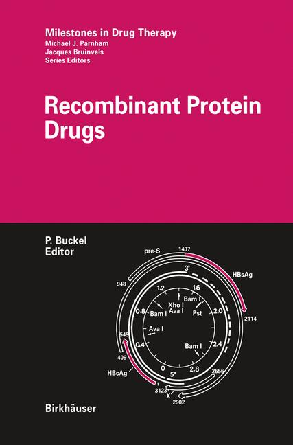 Cover of 'Recombinant Protein Drugs'