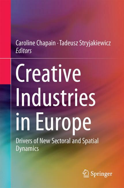 Cover of 'Creative Industries in Europe'