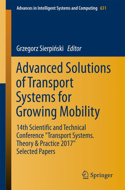 Cover of 'Advanced Solutions of Transport Systems for Growing Mobility'