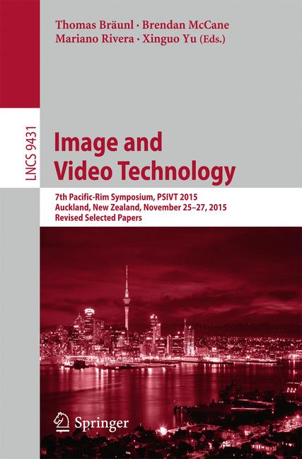 Cover of 'Image and Video Technology'