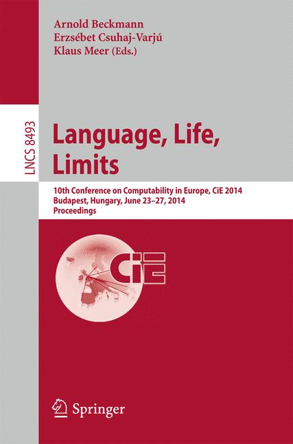 Cover of 'Language, Life, Limits'