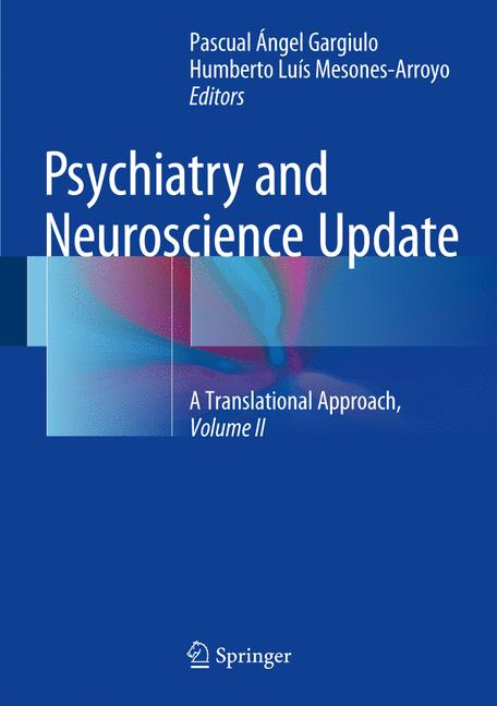 Cover of 'Psychiatry and Neuroscience Update - Vol. II'