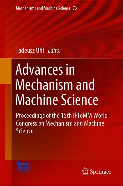 Cover of 'Advances in Mechanism and Machine Science'