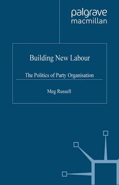 Cover of 'Building New Labour'