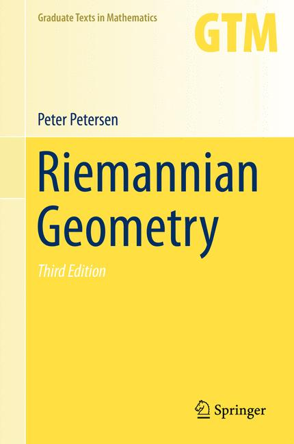 Cover of 'Riemannian Geometry'