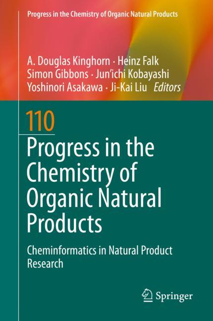 Cover of 'Progress in the Chemistry of Organic Natural Products 110'