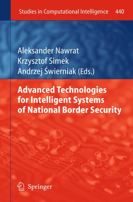 Cover of 'Advanced Technologies for Intelligent Systems of National Border Security'