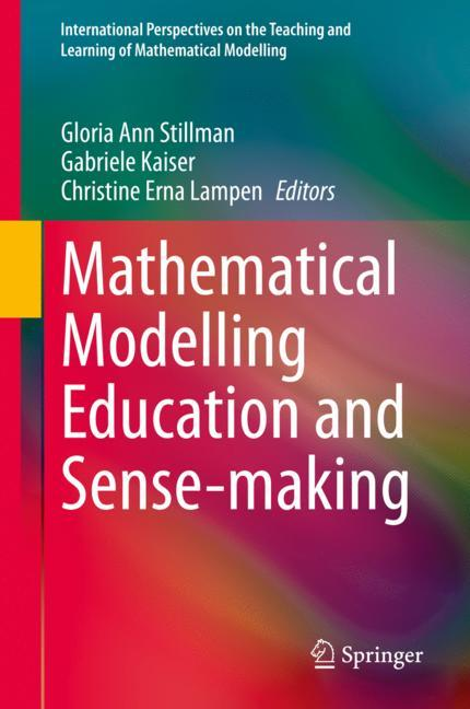 Cover of 'Mathematical Modelling Education and Sense-making'