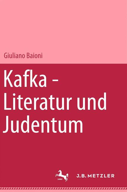 Cover of 'Kafka : Literatur und Judentum'