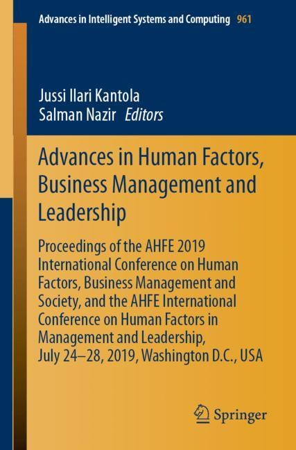 Cover of 'Advances in Human Factors, Business Management and Leadership'
