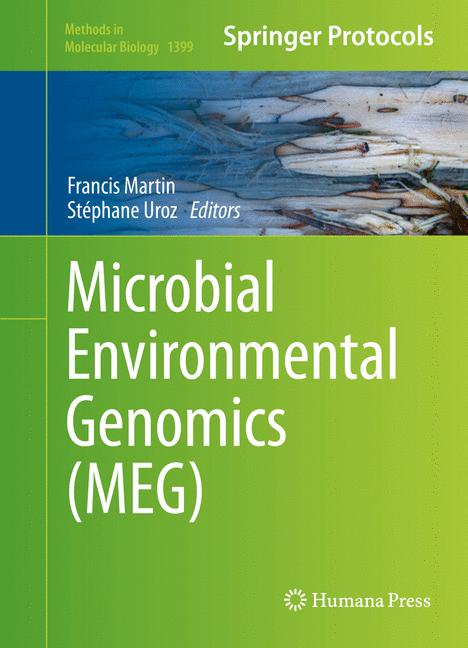 Cover of 'Microbial Environmental Genomics (MEG)'