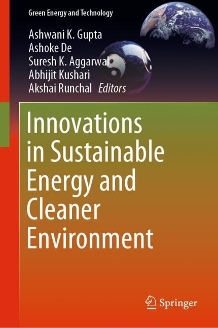 Cover of 'Innovations in Sustainable Energy and Cleaner Environment'