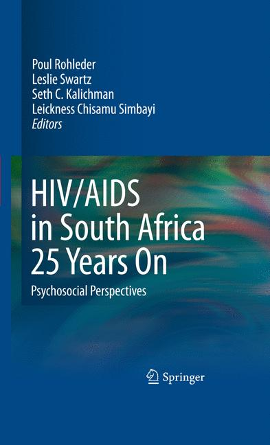 Cover of 'HIV/AIDS in South Africa 25 Years On'