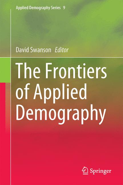 Cover of 'The Frontiers of Applied Demography'