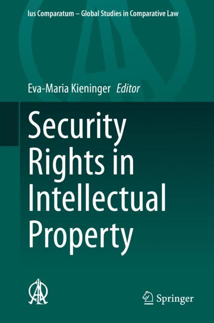 Cover of 'Security Rights in Intellectual Property'