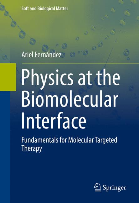 Cover of 'Physics at the Biomolecular Interface'