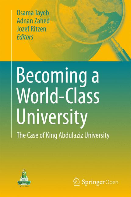 Cover of 'Becoming a World-Class University'