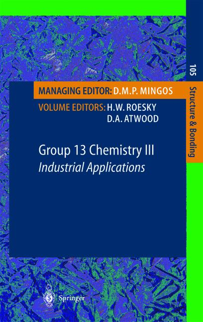 Cover of 'Group 13 Chemistry III'