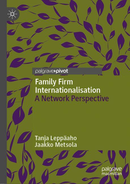 Cover of 'Family Firm Internationalisation'