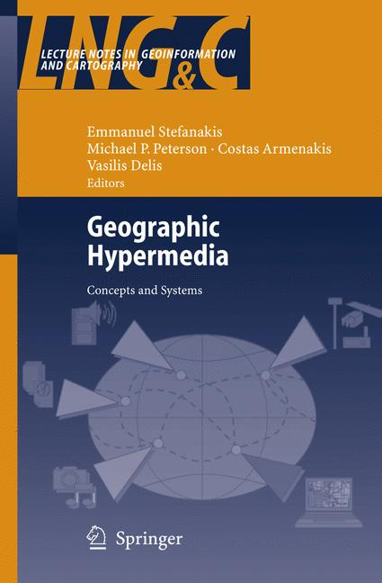 Cover of 'Geographic Hypermedia'