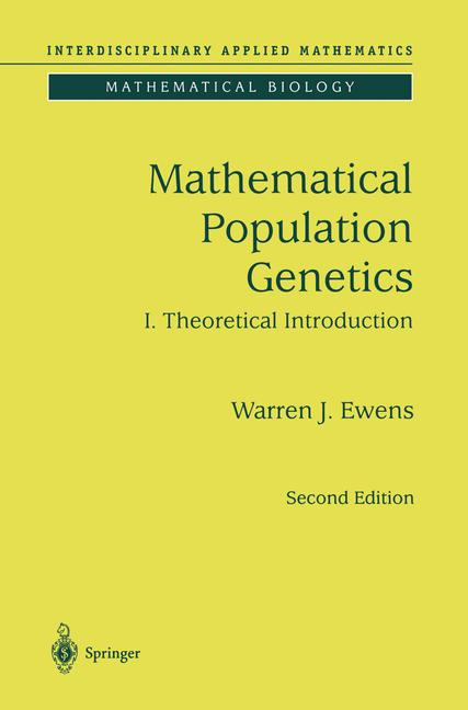 Cover of 'Mathematical Population Genetics'