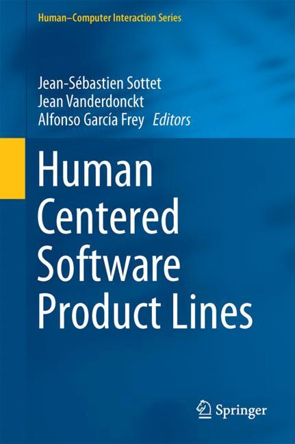 Cover of 'Human Centered Software Product Lines'