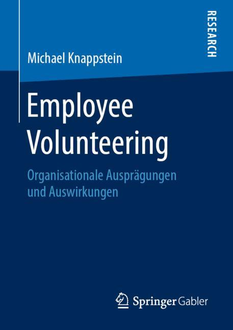 Cover of 'Employee Volunteering'