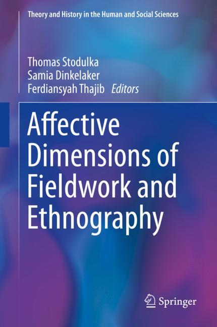 Cover of 'Affective Dimensions of Fieldwork and Ethnography'