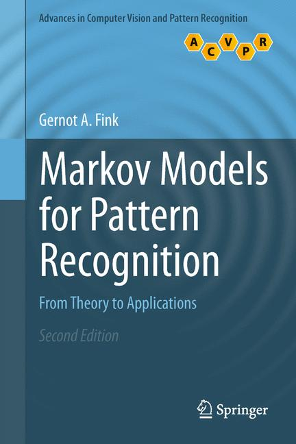 Cover of 'Markov Models for Pattern Recognition : From Theory to Applications'