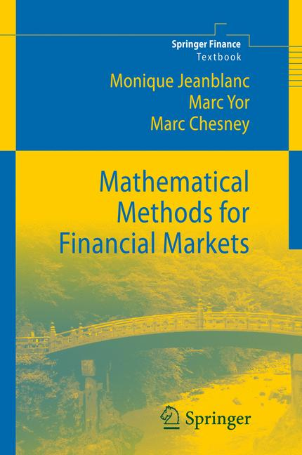 Cover of 'Mathematical Methods for Financial Markets'