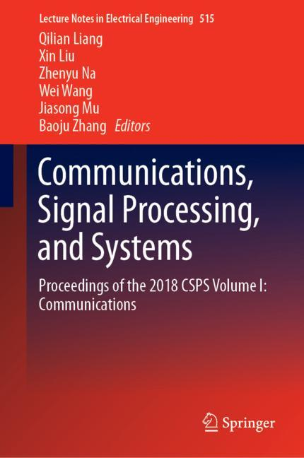 Cover of 'Communications, Signal Processing, and Systems'
