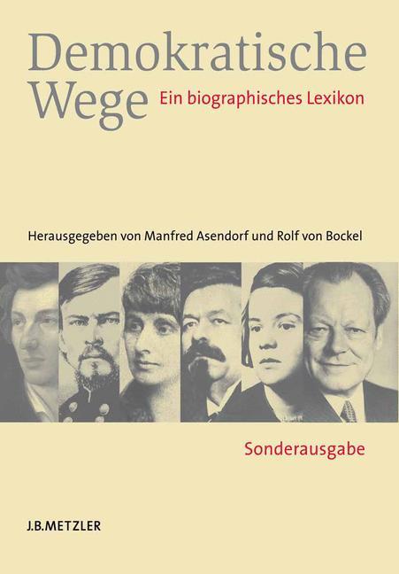 Cover of 'Demokratische Wege'