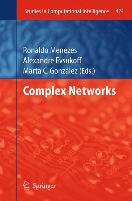 Cover of 'Complex Networks'