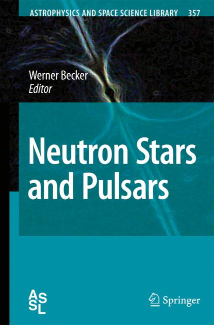 Cover of 'Neutron Stars and Pulsars'