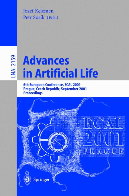 Cover of 'Advances in Artificial Life'