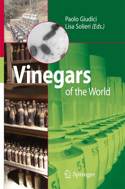 Cover of 'Vinegars of the World'