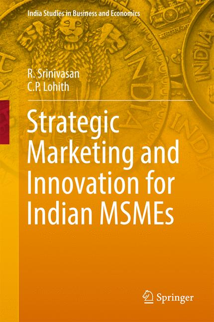 Cover of 'Strategic Marketing and Innovation for Indian MSMEs'