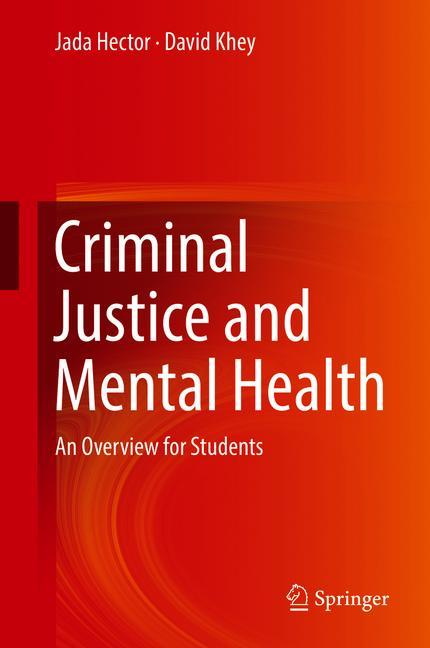 Cover of 'Criminal Justice and Mental Health'