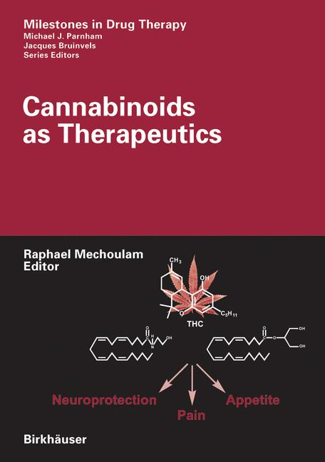 Cover of 'Cannabinoids as Therapeutics'