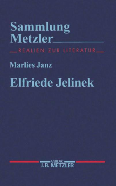 Cover of 'Elfriede Jelinek'